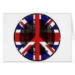 Peace In United Kingdom Greeting Card