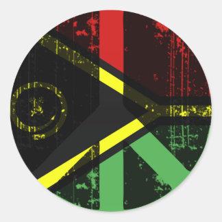 Peace In Vanuatu Stickers