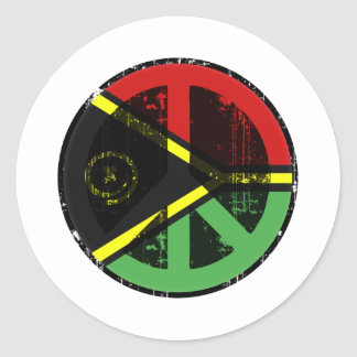 Peace In Vanuatu Sticker