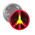Peace In Vietnam Pinback Button