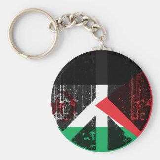 Peace In Western Sahara Keychain