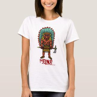 Peace Indian t-shirt design