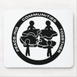 Peace-ing Communities Together Mouse Mat
