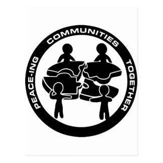 Peace-ing Communities Together Postcard