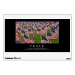 Peace: Inspirational Quote 2 Wall Decal