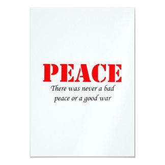 Peace Invitations