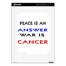 Peace iPad 3 Decal