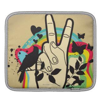 Peace iPad Sleeves