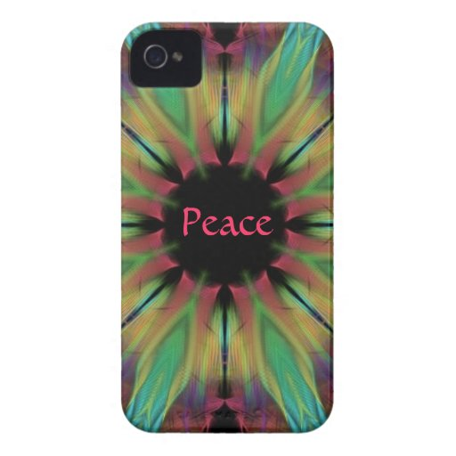 Peace iPhone 4 Cell Phone Case