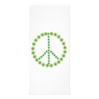 Peace is everything personalized rack card