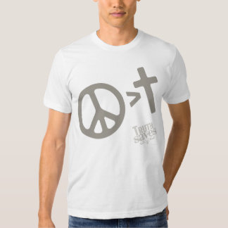 Peace Is Greater Tee Shirt