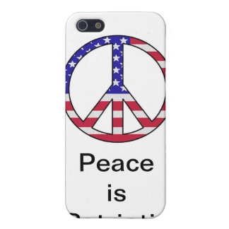 Peace is Patriotic Case For iPhone SE/5/5s