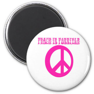 Peace IS Possible (pink) Magnet