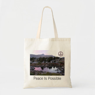 Peace Is Possible Tote