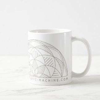 Peace is very rarely quiet coffee mug