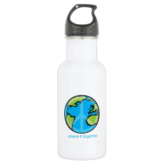 Peace it Together Customize 18oz Water Bottle