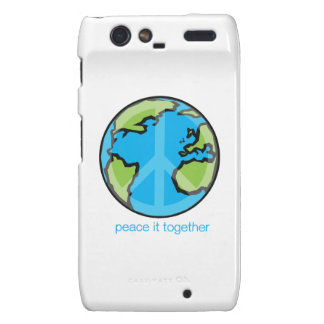 Peace it Together Customize Product Motorola Droid RAZR Cases