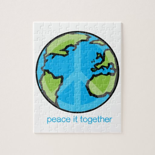 Peace it Together Customize Product Puzzles
