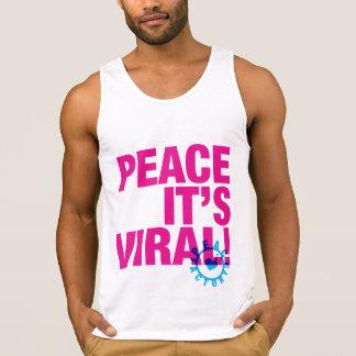 Peace It's Viral Tank Top