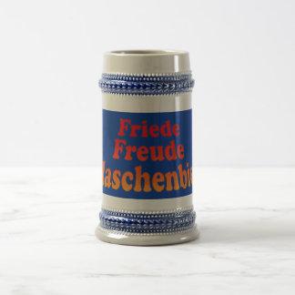 Peace joy Flaschenbier 18 Oz Beer Stein