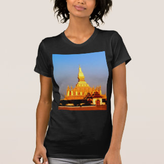 Peace joy golden pagada wat pha-that luang vientia tshirt