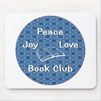 peace,joy,love,book club mouse pad