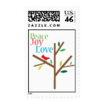 Peace Joy Love Holiday Stamps