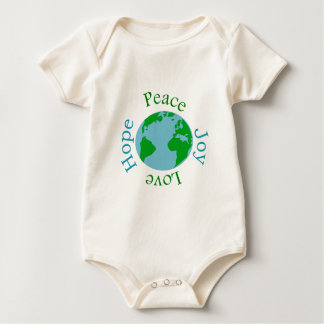 Peace Joy Love Hope Baby Bodysuit