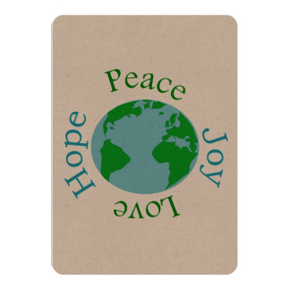 Peace Joy Love Hope Card