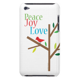 Peace Joy Love Hope Case-Mate iPod Touch Case