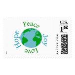 Peace Joy Love Hope Stamps