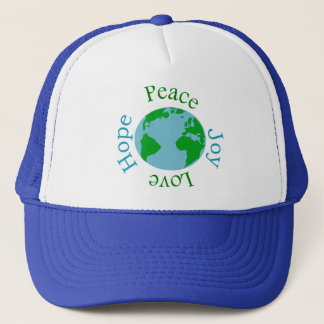 Peace Joy Love Hope Trucker Hat