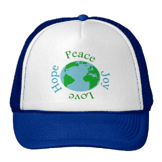 Peace Joy Love Hope Trucker Hat
