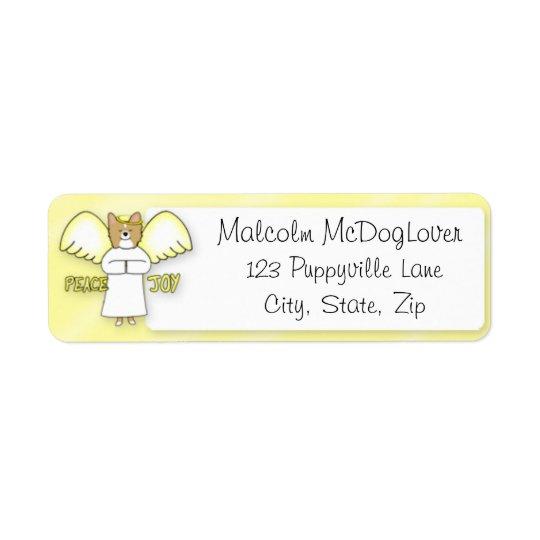 Peace Joy Papillon Label