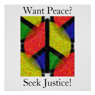PEACE & JUSTICE POSTERS