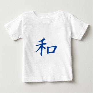 Peace Kanji Blue Baby T-Shirt