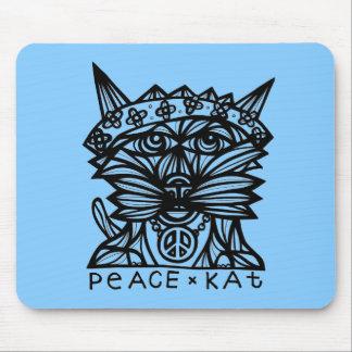 Peace Kat Mousepad
