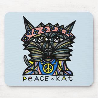"""Peace Kat"" Mousepad"