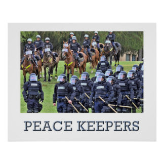 Peace Keepers Poster