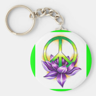 Peace Key Chains