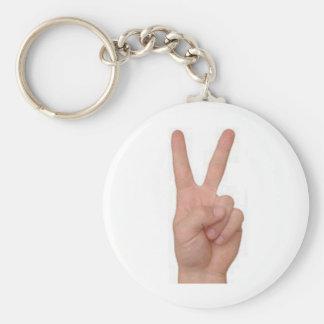 Peace! Keychain