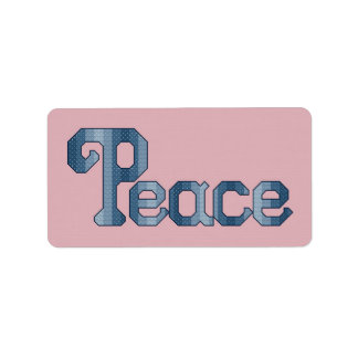 Peace Label Stickers