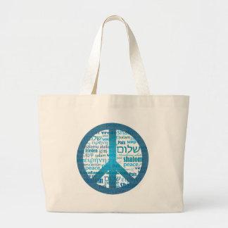 Peace Language Bag