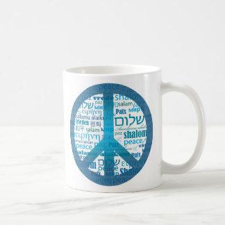 Peace Language Coffee Mug
