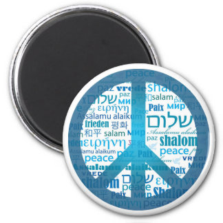 Peace Language Refrigerator Magnets