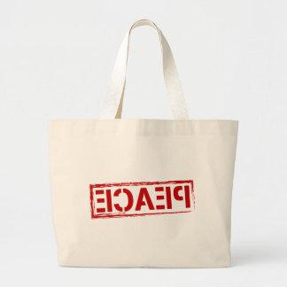 Peace Large Tote Bag