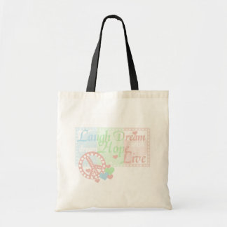 Peace Laugh Dream Love Hope Tshirts and Gifts Bags