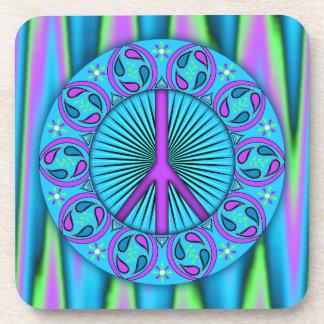Peace ~ Leaf Beverage Coaster