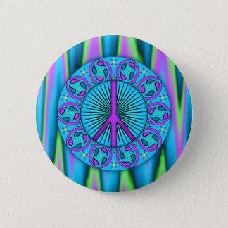 Peace ~ Leaf Button