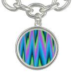 Peace ~ Leaf Charm Bracelet